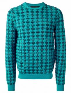 JONATHAN SAUNDERS Pattern Knit Jumper