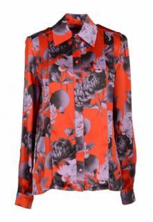 Jonathan Saunders Red Long Sleeve Shirt