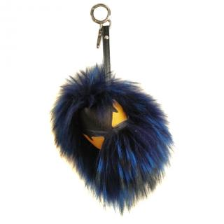Fendi fox fur bag bug