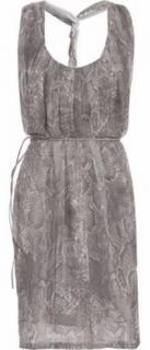 Acne naia snake dress