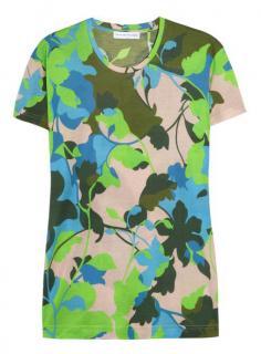 Jonathan Saunders Multicolor Boyfriend T-shirt In Floral