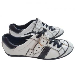 Christian Dior D'trick D ring brogue trainers