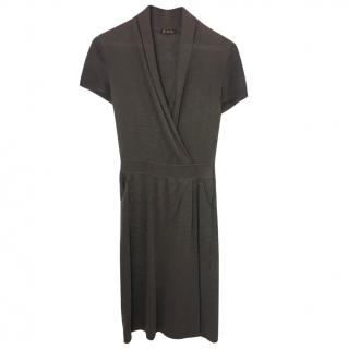 Loro Piana Brown Knit Dress