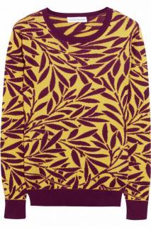 JONATHAN SAUNDERS Intarsia Cotton Sweater
