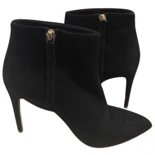 Rupert Sanderson Black Heeled Ankle Boots