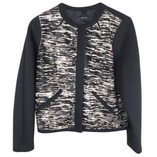 Isabel Marant calf leather bomber jacket