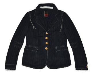 Dark Blue Cotton Jacket