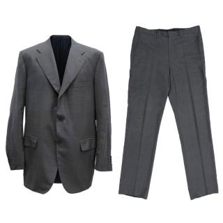 Kiton Wool Check Suit