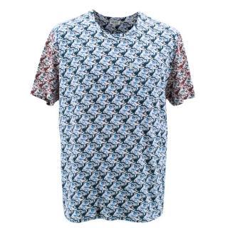 Kenzo Men's Tiger Print T-Shirt