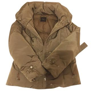 Max Mara Feather & Down Coat