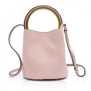 Marni Pink Pannier Bucket Bag