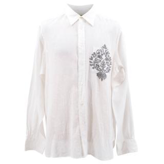 Libertine Linen Embellished Shirt