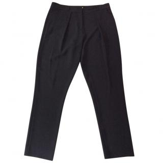 Diane von Furstenburg black trousers