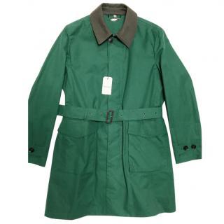 Hardy Amies Green Trench Coat