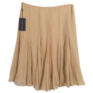 Ralph Lauren Beige Silk Skirt