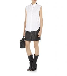 3.1 Phillip Lim Sleeveless Shirt White/Black,