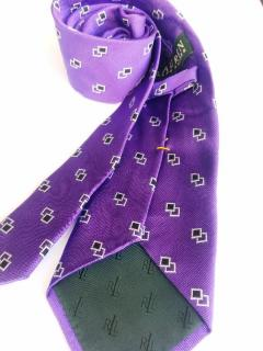 Ralph Lauren Purple Silk Tie