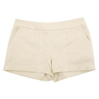 Skaist-Taylor Embossed Cotton-Blend Shorts
