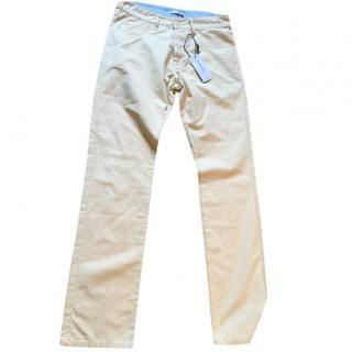 Carven mustard jeans