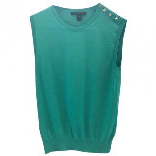 Louis Vuitton Green Top