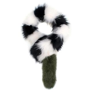Charlotte Simone Popsicle Fur Scarf
