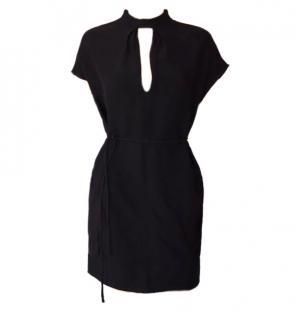 Valentino Silk Black Dress