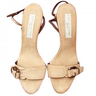 Stella McCartney Nude Sandals