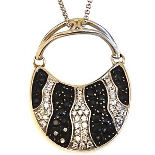 Mirabelle Diamond & Sapphire Pendant 18ct gold