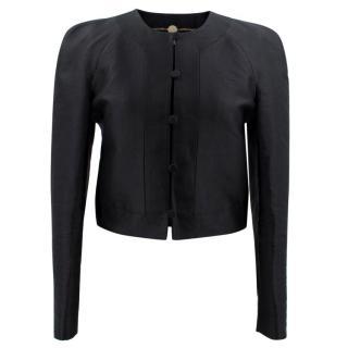 Stella McCartney Black Crop Jacket