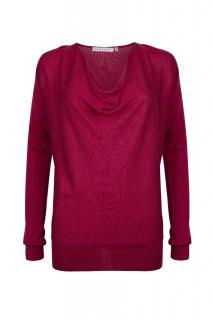 Diana Elegant Drape Sweater
