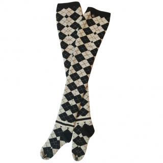 Chanel  Runway Sock Paris Edinburgh Collection