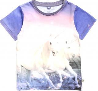 Stella McCartney Kids Baby Chuckle Unicorn T Shirt