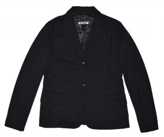 Jil Sander Dark Blue Wool Blazer