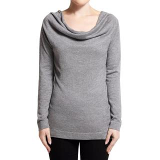 Belinda Robertson Grey Long Sleeve Top