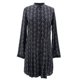 The Kooples Printed Silk Dress