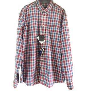 Hackett Blue Check Shirt
