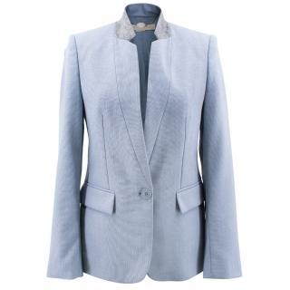Stella McCartney Blue Wool Blazer