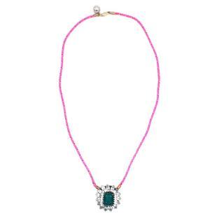 Shourouk Leitmotiv Yildiz Crystal Necklace