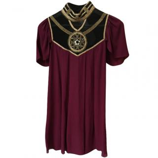 Temperley Bordeaux Tunic