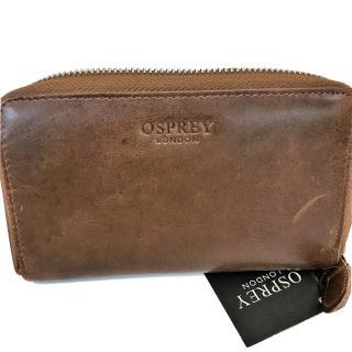 Osprey cognac purse