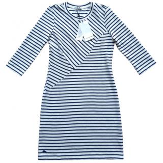 Lacoste Textured Stripe Dress