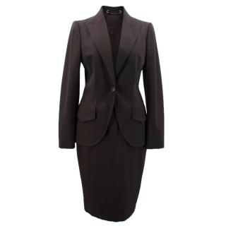 Gucci Wool Skirt Suit