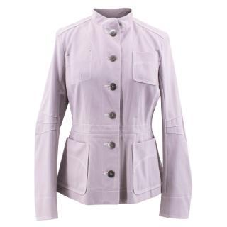 Louis Vuitton Lavender Military Jacket