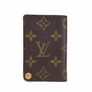 Louis Vuitton Monogram Porte Billets Cartes Credit Pression Card Case