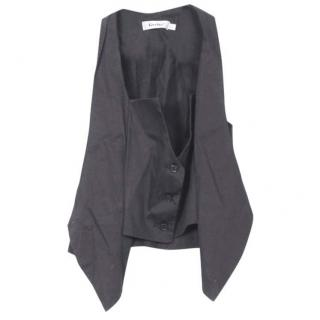 Gestuz black double layer Vest