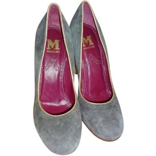 M Missoni Grey Suede Shoes