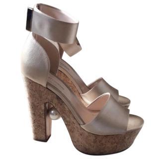 Nicholas Kirkwood Maya Pearl Heels