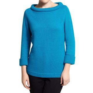 Belinda Robertson Blue Cashmere Jumper