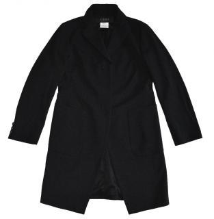 Atsuro Tayama Black Wool Coat