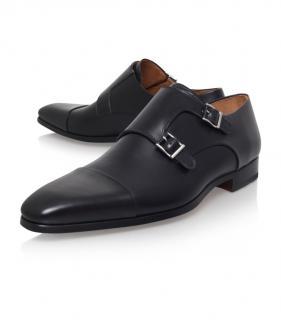 Magnanni Toe Cap Monk Shoes